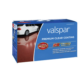 Valspar 128 Fluid Ounce(S) Interior Gloss Porch and Floor Clear Paint
