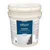 Valspar White Flat Water-Based Interior/Exterior Paint (Actual Net Contents: 640-fl oz)
