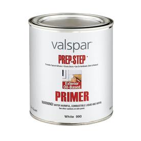 shop valspar 1 quart exterior oil primer at. Black Bedroom Furniture Sets. Home Design Ideas