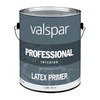 Valspar White Flat Latex Interior Paint (Actual Net Contents: 128-fl oz)