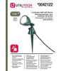 Utilitech 75-Watt (75W Equivalent) Green Line Voltage Plug-In Halogen Landscape Flood Light