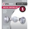 Utilitech 6.12-in 2-Head Halogen White Switch-Controlled Flood Light