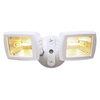 Utilitech 2-Head Halogen White Switch-Controlled Flood Light