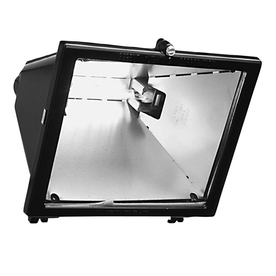Utilitech 9-in 1-Head Halogen Bronze Switch-Controlled Flood Light