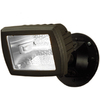 Utilitech 5.5-in Halogen Bronze Switch-Controlled Flood Light