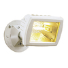 Utilitech 1-Head Halogen White Switch-Controlled Flood Light