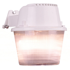 Utilitech 70-Watt White Dusk-To-Dawn Security Light