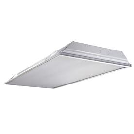 Metalux Troffer Shop Light (Common: 4-ft; Actual: 23.75-in x 47.93-in)