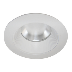 Shop Cooper Lighting 6 In White Baffle Recessed Lighting Trim At