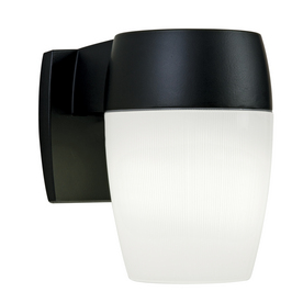26 watt black fluorescent dusk to dawn security light at. Black Bedroom Furniture Sets. Home Design Ideas
