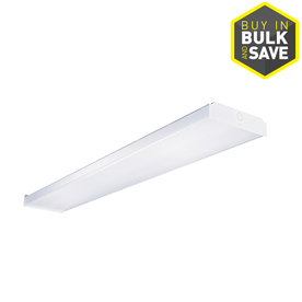 Metalux 48-in Fluorescent Wrap Light