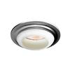 Utilitech Satin Nickel Baffle Recessed Light Trim (Fits Housing Diameter: 6-in)