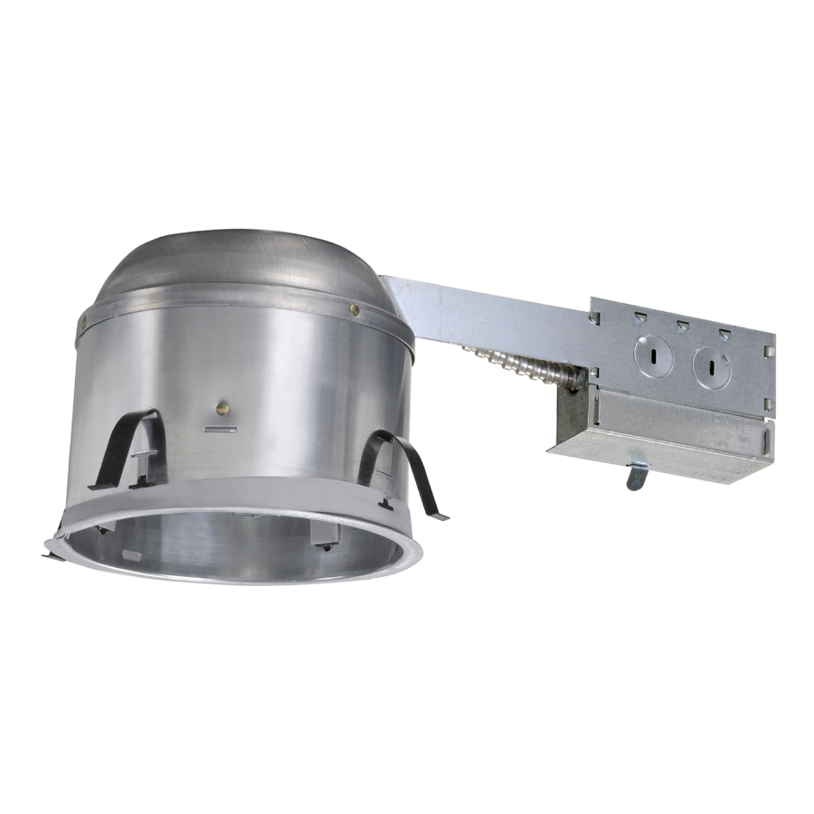 Shop Halo Remodel Airtight IC Shallow Recessed Light Housing At