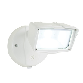 Utilitech Pro 22-Watt White Dusk-to-Dawn Security Light