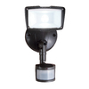 All-Pro 110-Degree Bronze LED Motion-Activated Flood Light with Timer