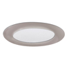 Halo Nickel Shower Recessed Light Trim (Fits Housing Diameter: 6-in)