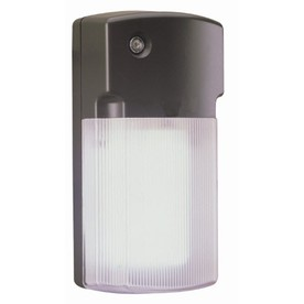 Shop Utilitech 26 Watt Bronze CFL Dusk to Dawn Security
