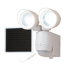All-Pro LED Motion 180-Degree White Solar Powered LED Motion-Activated Flood Light with Timer