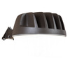 All-Pro Area and Wall Light 33-Watt Bronze LED Dusk-to-Dawn Security Light