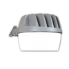 All-Pro Area and Wall Light 33-Watt Gray LED Dusk-to-Dawn Security Light