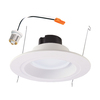 Halo 75-Watt Equivalent White LED Recessed Retrofit Downlight (Fits Housing Diameter: 5-in or 6-in)