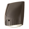 All-Pro Wall Pack 7.25-in 1-Head LED Bronze Switch-Controlled Flood Light