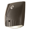 All-Pro Wall Pack 12.3-Watt Bronze LED Dusk-to-Dawn Security Light