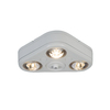 All-Pro Revolve 3-Head 31.6-Watt White LED Dusk-To-Dawn Security Light
