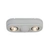 All-Pro Revolve 180-Degree 2-Head White LED Motion-Activated Flood Light