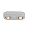 All-Pro Revolve 5.1-in 2-Head LED White Switch-Controlled Flood Light