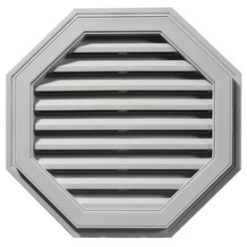 Builders Edge 27-in x 27-in Paintable Octagon Vinyl Gable Vent