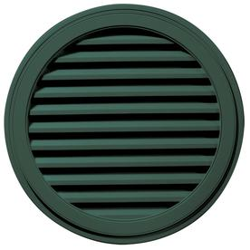 Builders Edge 12-in x 12-in Green Vinyl Gable Vent