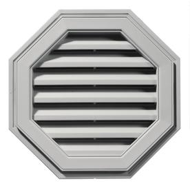 Builders Edge 22-in x 22-in Paintable Octagon Vinyl Gable Vent