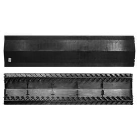 "Builders Edge 1.39"" x 8.8"" x 48"" Black  RidgeVent Plus"