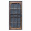 PRECISION Woodguard Oak Steel Security Door (Common: 39-in x 82-in; Actual: 39-in x 82-in)