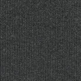 16-Pack 18-in x 18-in Restoration Gunmetal Indoor/Outdoor Needlebond Peel-and-Stick Carpet Tile