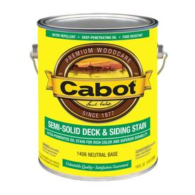 Cabot Tintable Semi-Transparent Exterior Stain (Actual Net Contents: 116-fl oz)