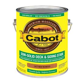 Cabot Semi-Transparent Exterior Stain (Actual Net Contents: 128-fl oz)