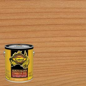 Cabot Australian Timber Oil Transparent Exterior Stain (Actual Net Contents: 128-fl oz)