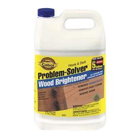 Cabot Problem Solver Wood Brightener