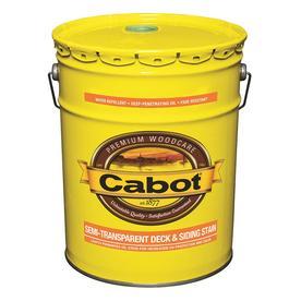 Cabot Semi-Transparent Exterior Stain (Actual Net Contents: 580-fl oz)