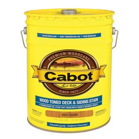 Cabot Transparent Exterior Stain (Actual Net Contents: 640-fl oz)