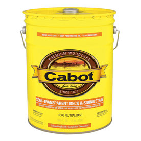 Shop Cabot 5 Gallon Semi Transparent Exterior Stain At