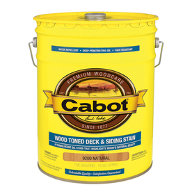 Shop Cabot 5 Gallon Transparent Exterior Stain At