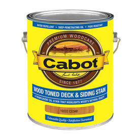 Cabot 1-Gallon Transparent Exterior Stain