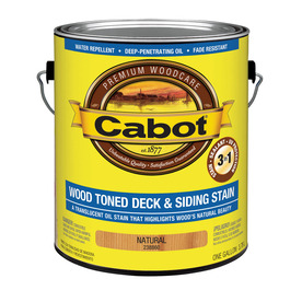 Cabot Cabot 3 in 1 Natural Toner Exterior Stain (Actual Net Contents: 128-fl oz)