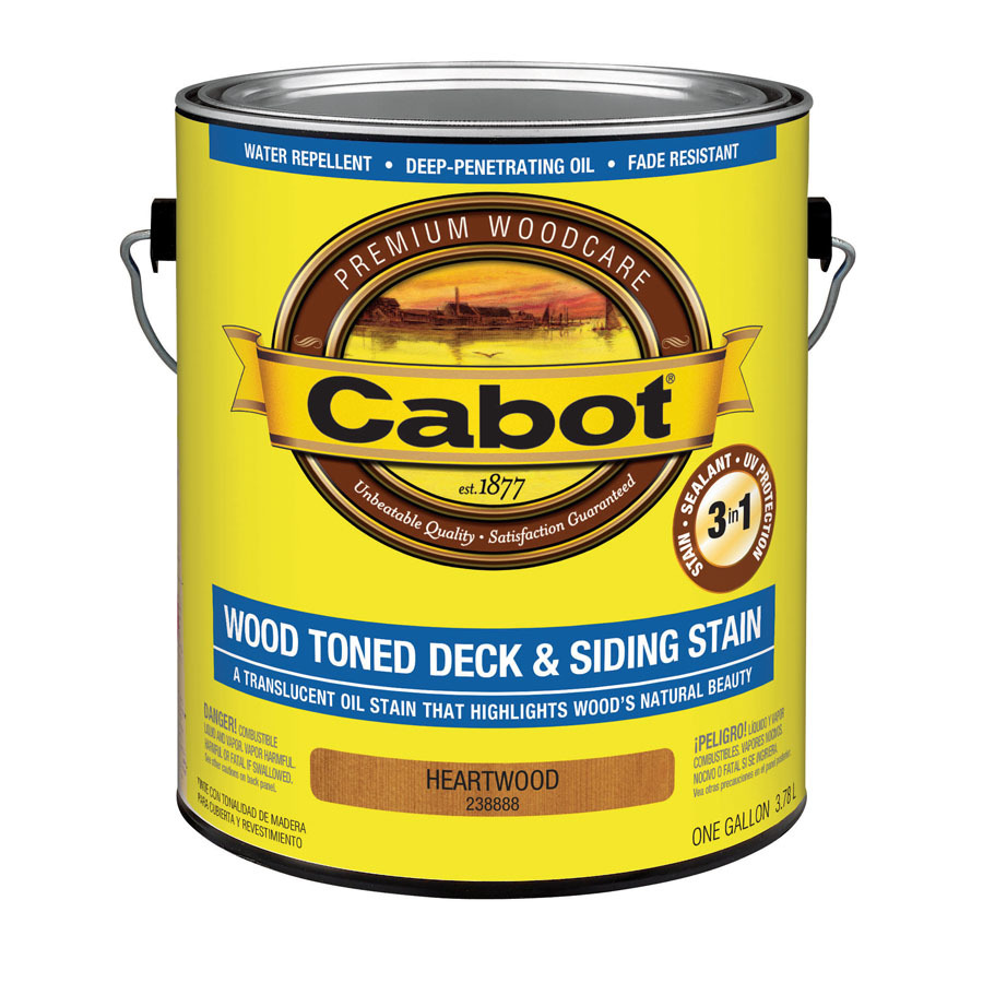 Shop Cabot Cabot 3 In 1 Gallon Size Container Heartwood