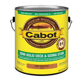 Cabot Cabot 3 in 1 Redwood Semi-Solid Exterior Stain (Actual Net Contents: 128-fl oz)