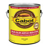 Cabot Cabot 3 in 1 Tintable White Base Solid Exterior Stain (Actual Net Contents: 124-fl oz)