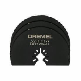 Dremel 3-Pack High Speed Steel Oscillating Tool Blades